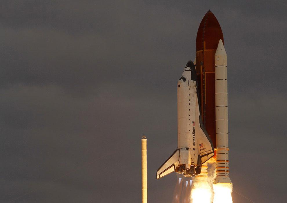 Последний полет космического шаттла «Индевор»