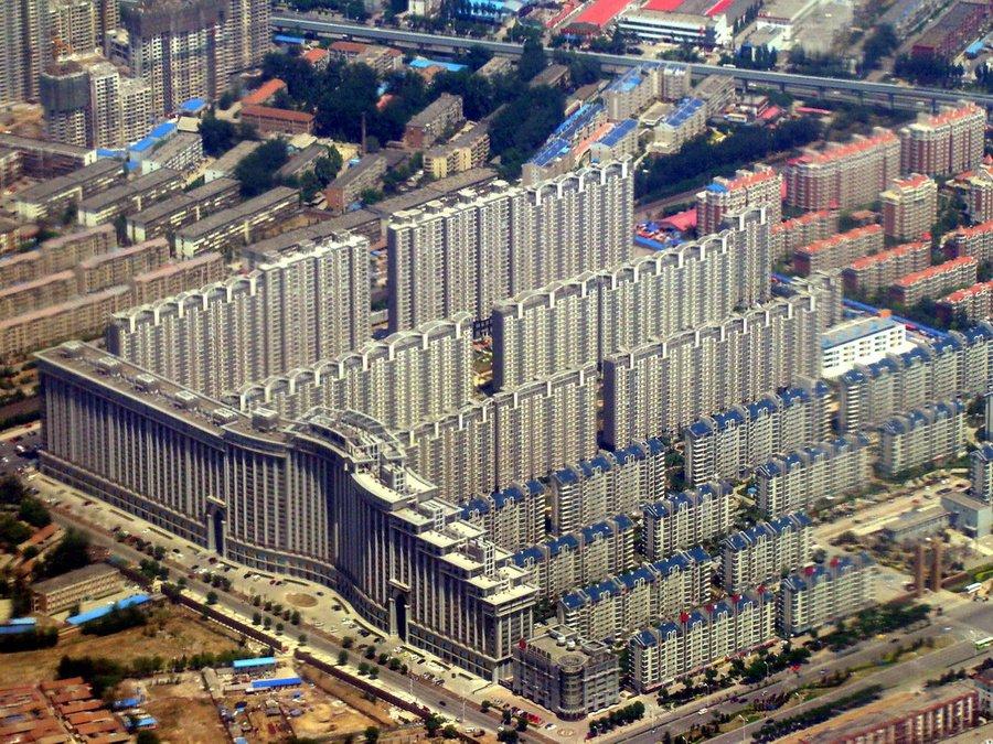 Китай с высоты птичьего полета