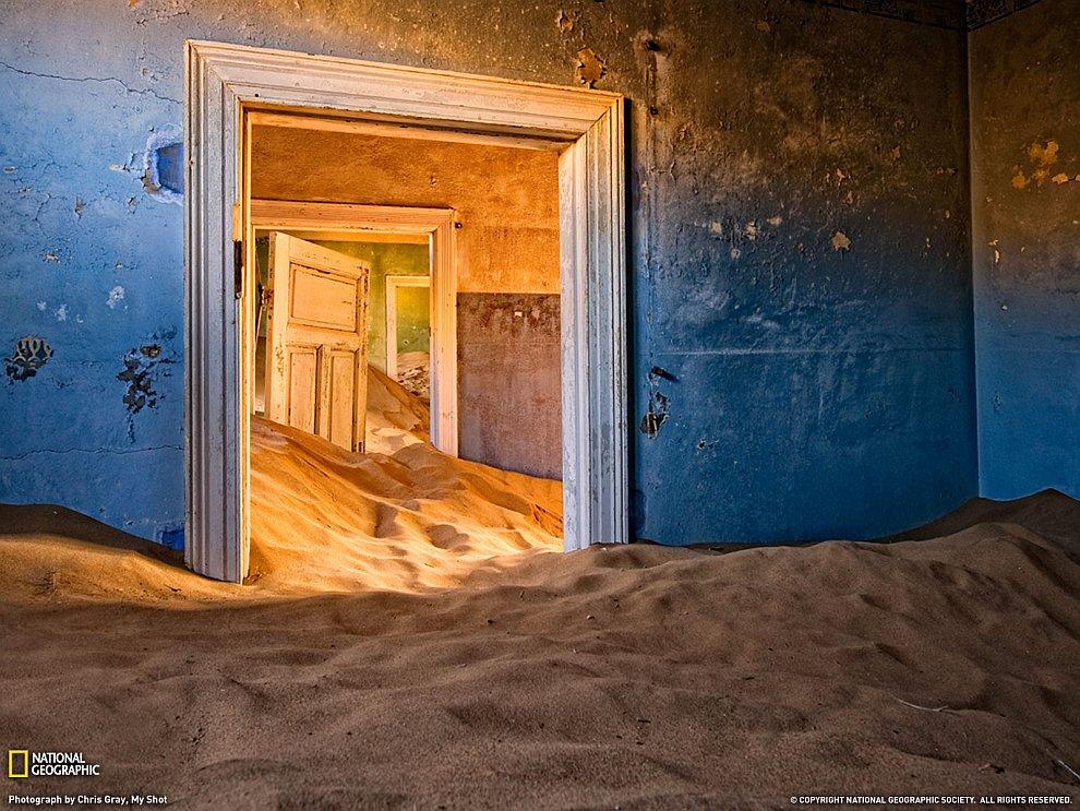 Колманскоп - город-призрак в пустыне Намиб