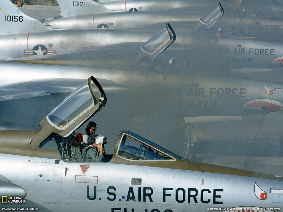 «Летающие тигры» или эскадрон F-105