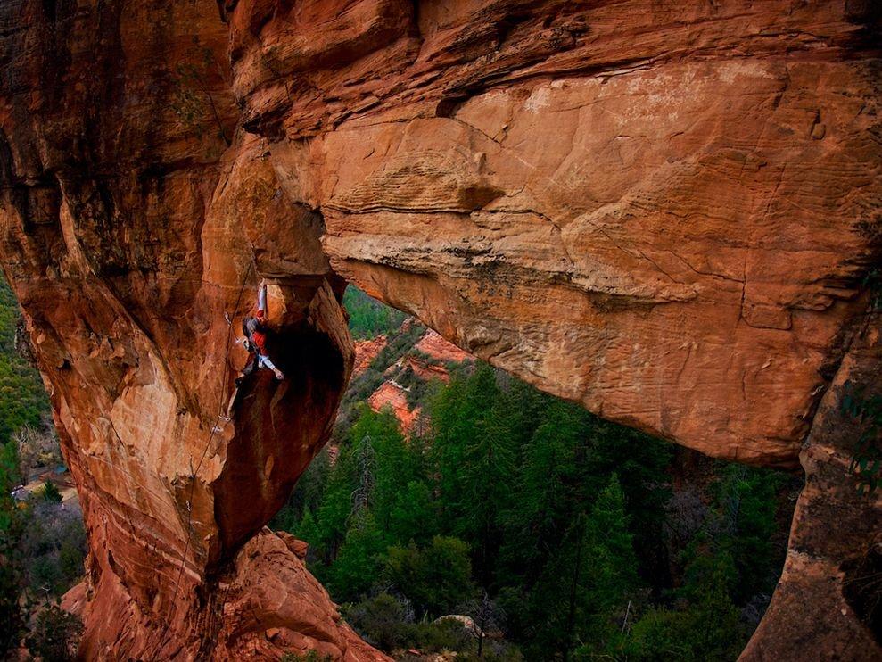 Штурм отвесной скалы, штат Аризона