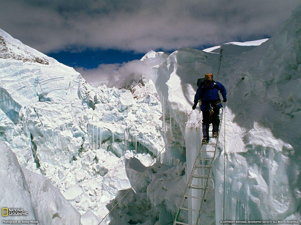 Ледяной водопад Кхумбу