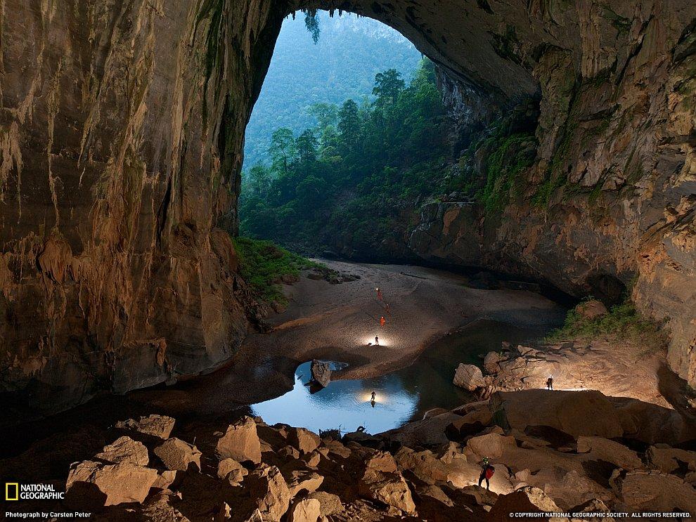 Пещера Hang Son Doong, Вьетнам