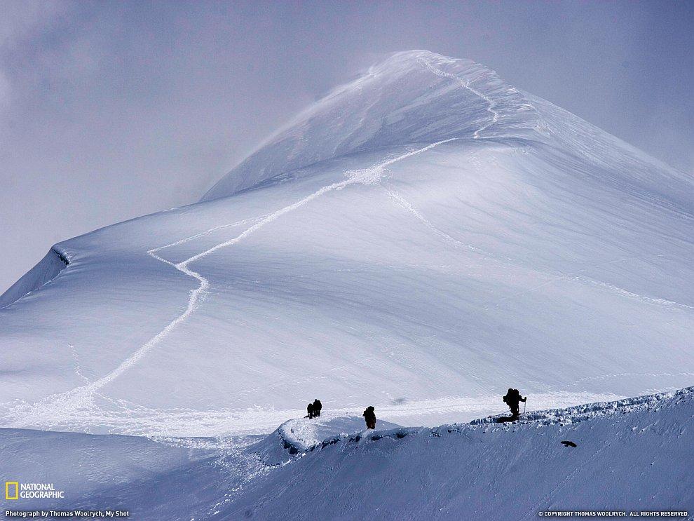 Путь в вершине, Альпы