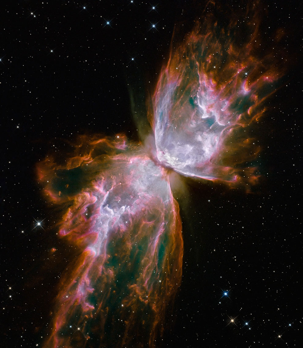 Туманность Бабочка (NGC 6302)