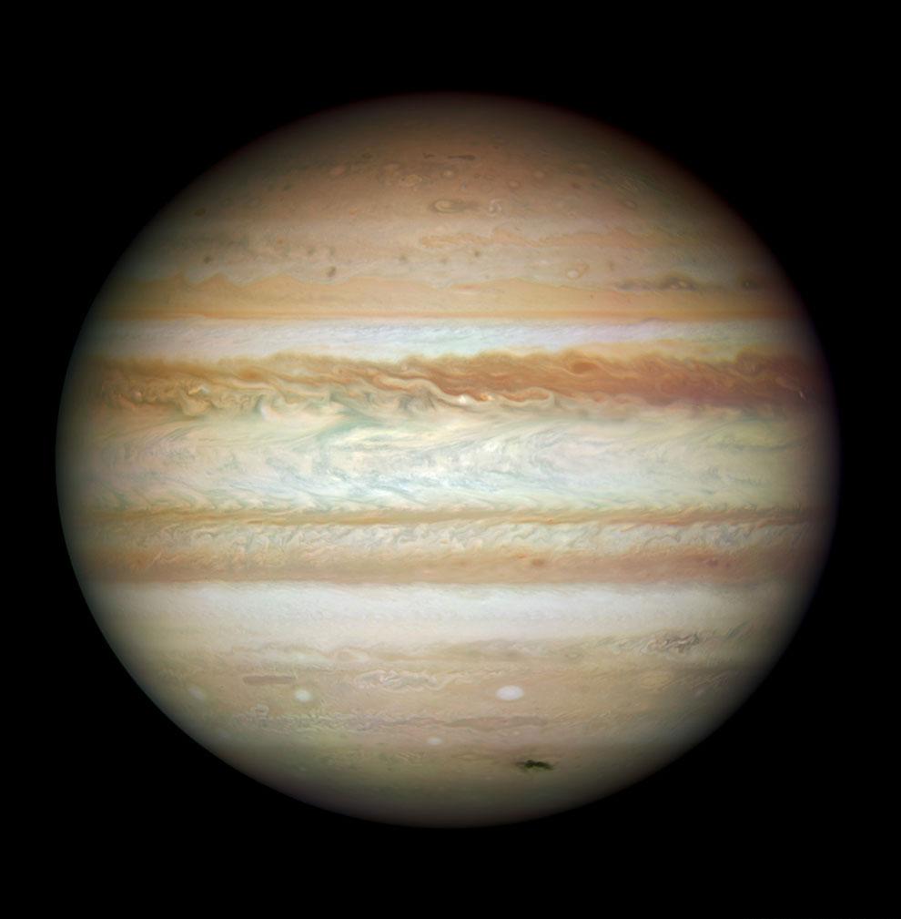 Юпитер — пятая планета от Солнца