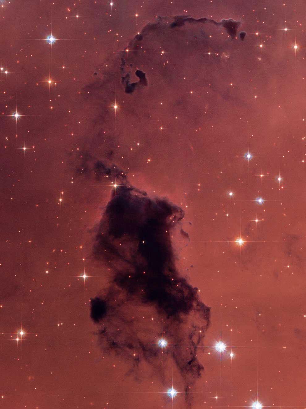 Пылевые облака в нашей галактике Млечный Путь