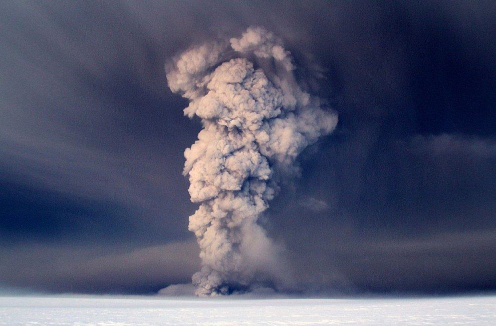 Извержение вулкана Гримсвотн