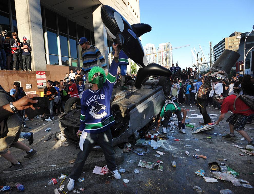 Погромы по-канадски в «лучшем городе в мире для проживания»