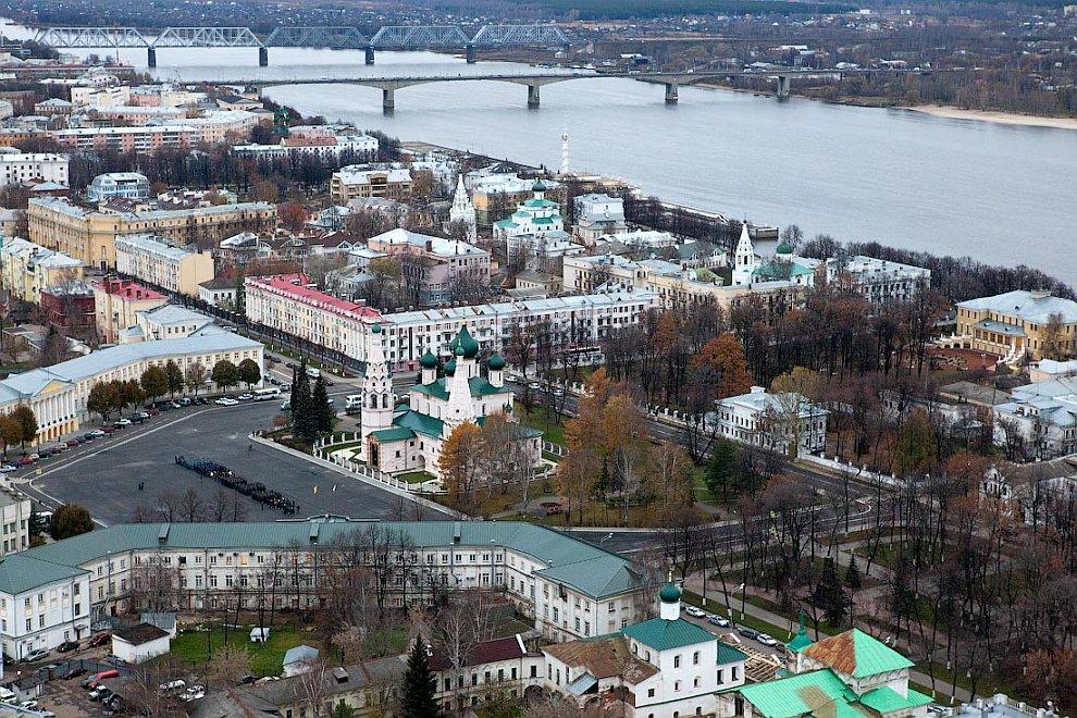 Полеты над Ярославлем на дирижабле