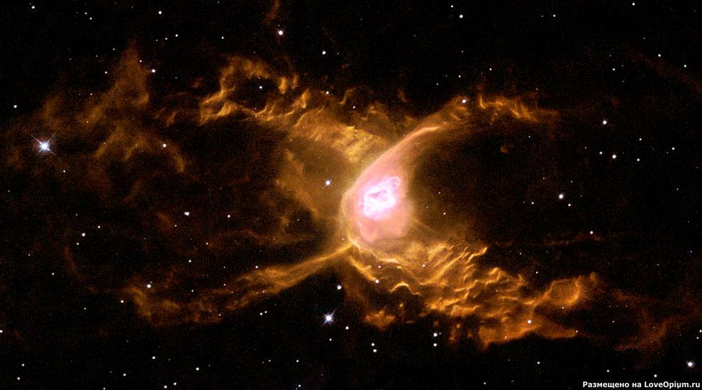 Планетарная туманность Красный Паук
