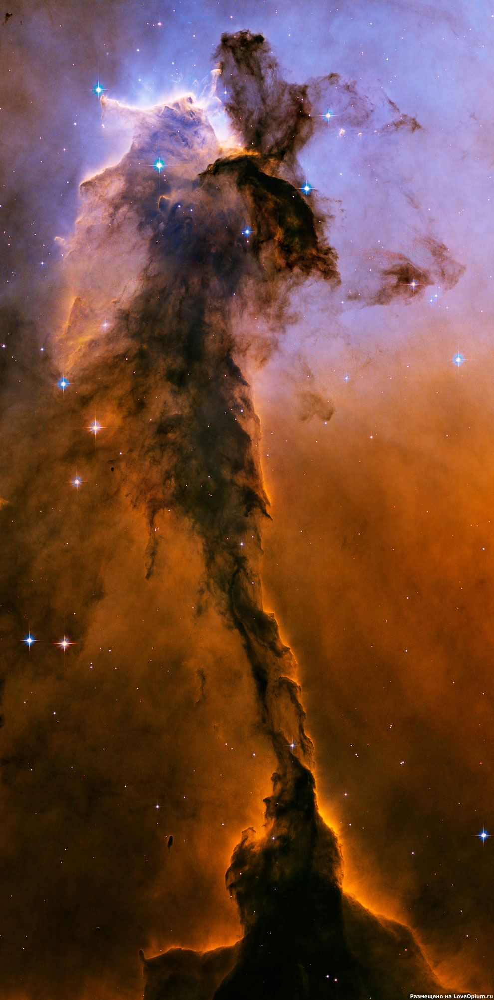 Туманность  М16 Орёл