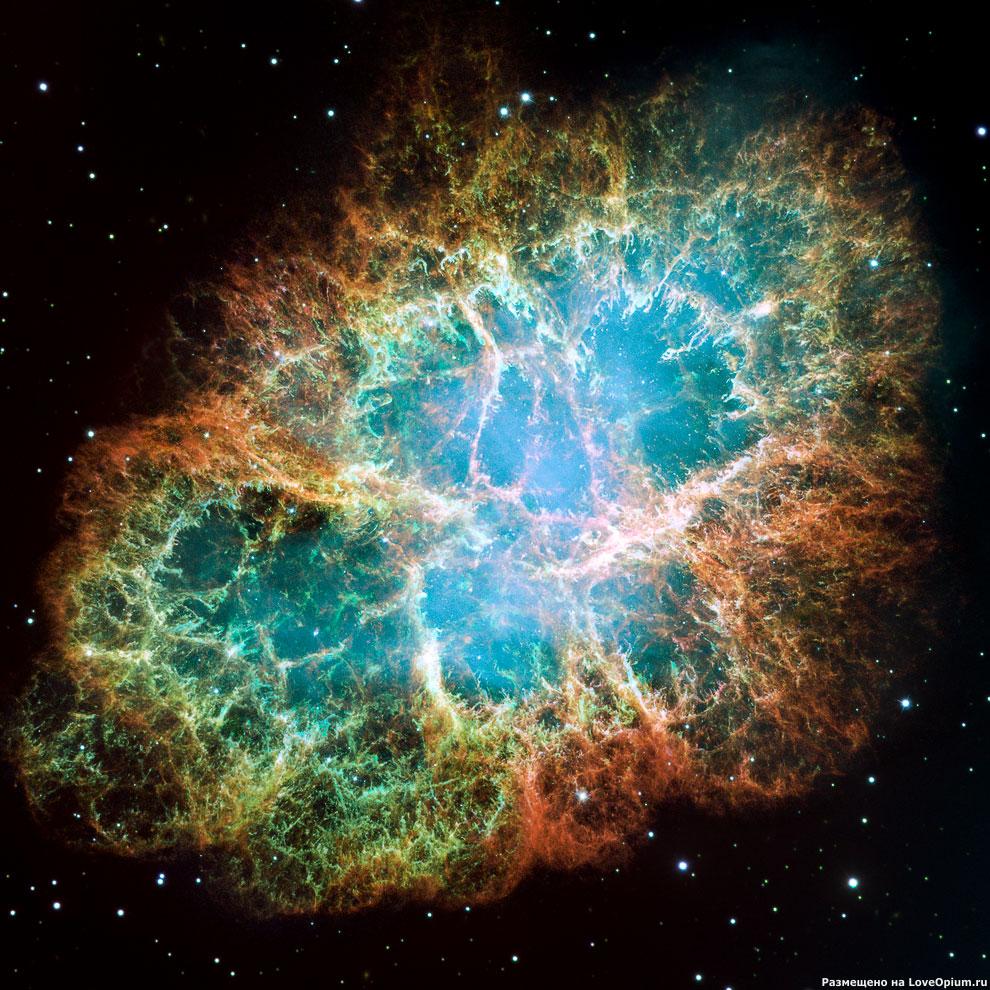 Туманность NGC 1952 «Краб»