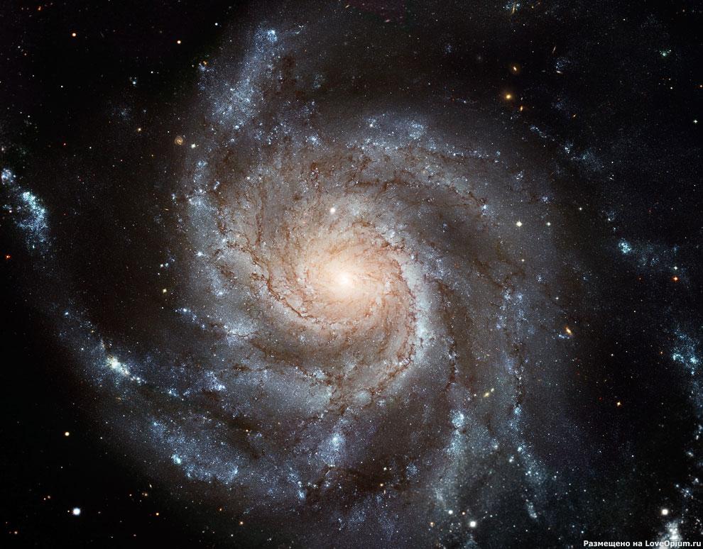 Спиральная галактика NGC 5457