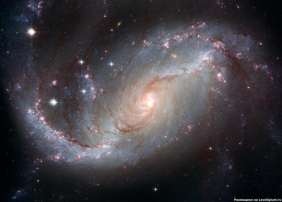 Спиральная галактика с перемычкой NGC 1672