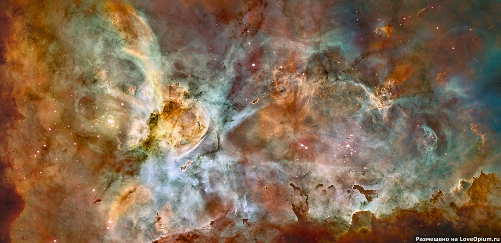 Туманность Киля NGC 3372