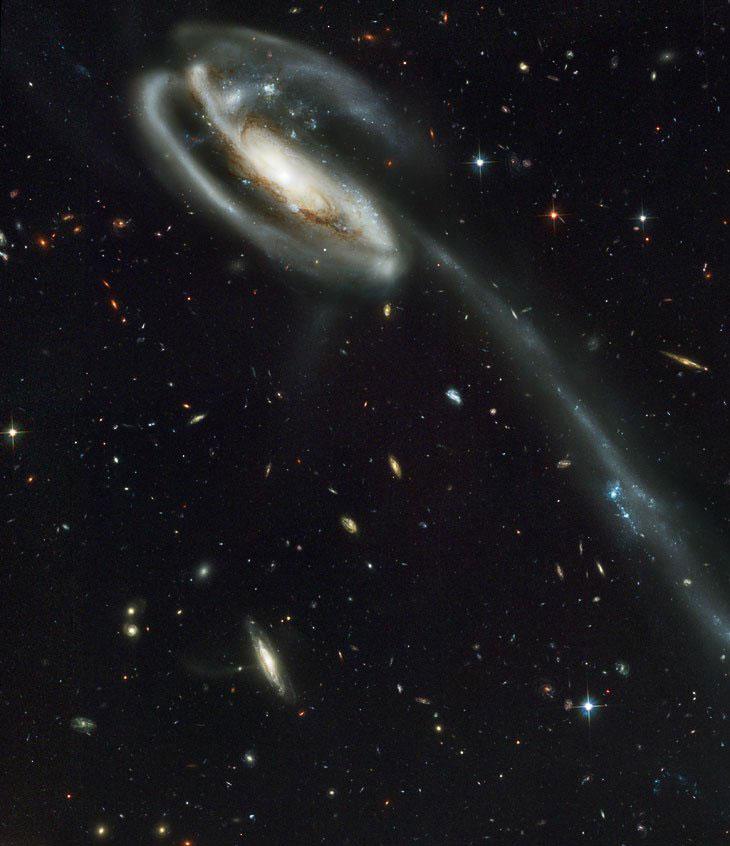 Далекая галактика UGC 10214
