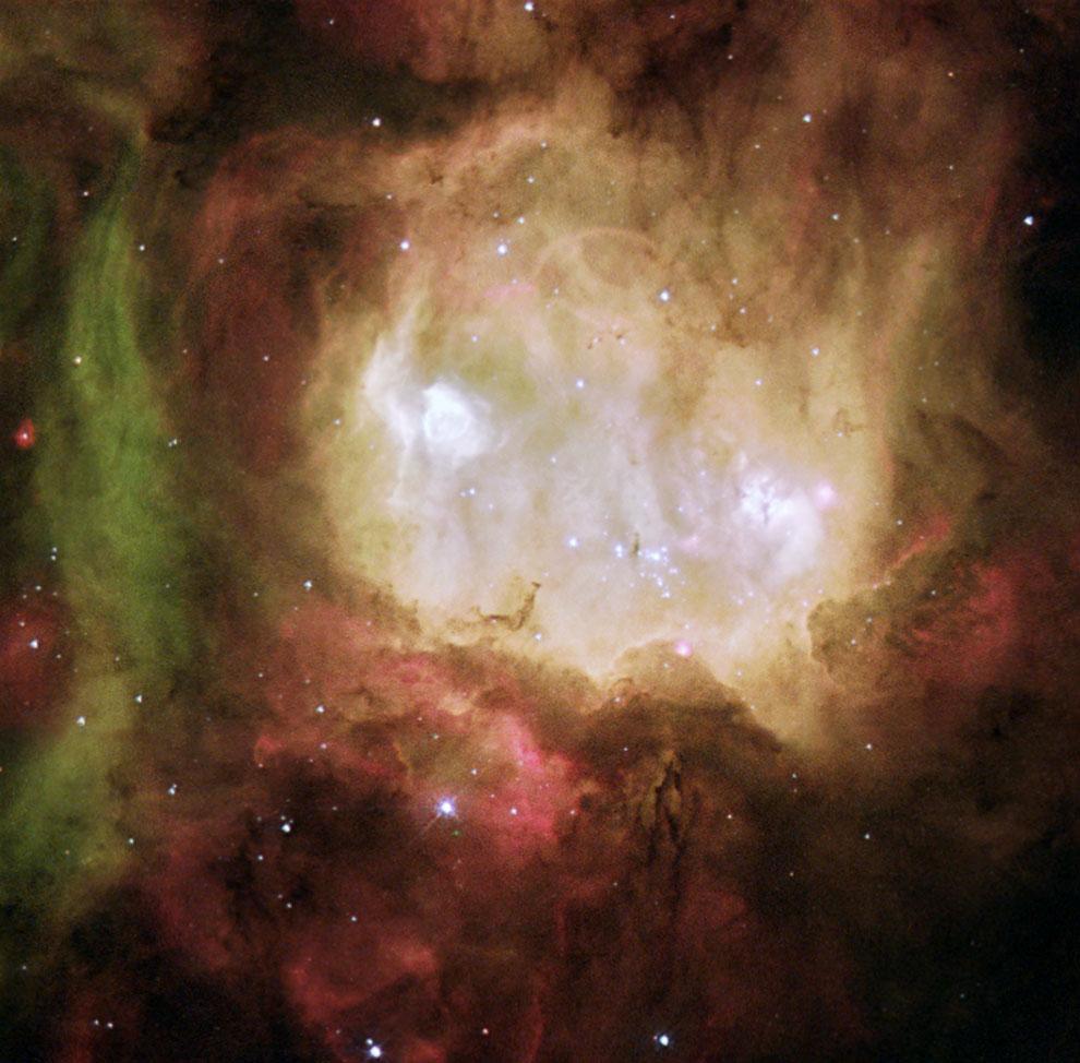 Туманность NGC 2080 «Голова Призрака»