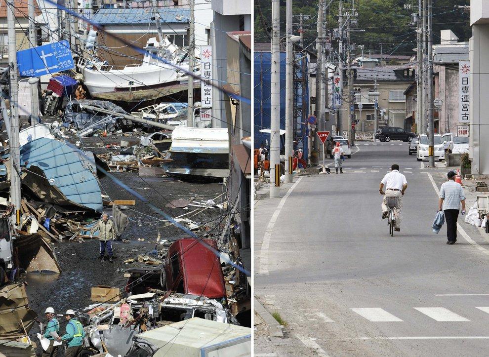 Землетрясение в Японии: три месяца спустя