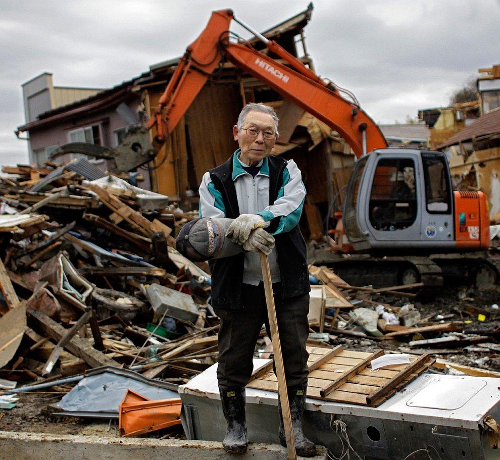 Землетрясение в Японии: два месяца спустя