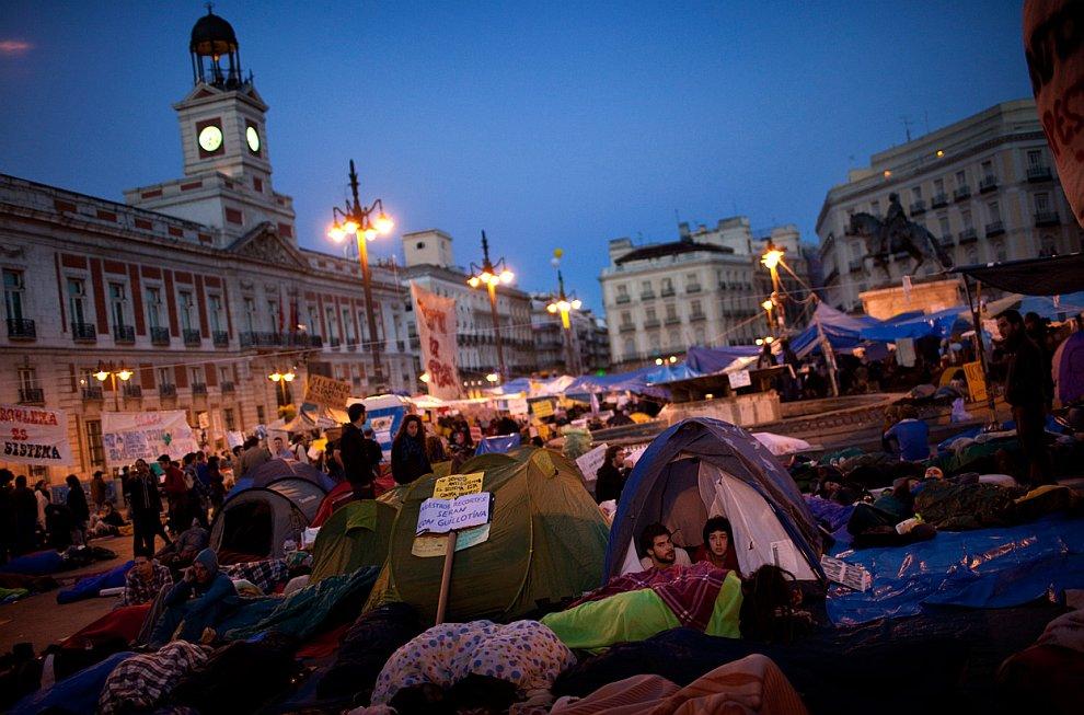 Протестующая Испания