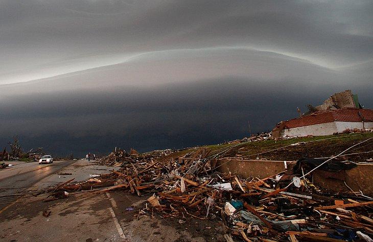 Мощный торнадо в американском штате Миссури