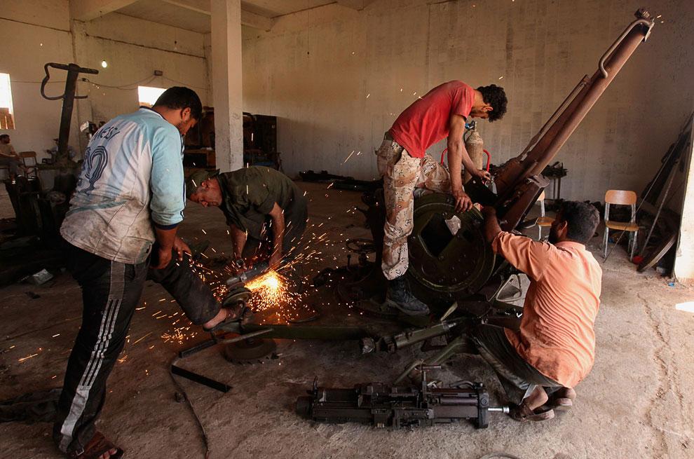 «Безумный Макс»: обзор оружия ливийских мятежников