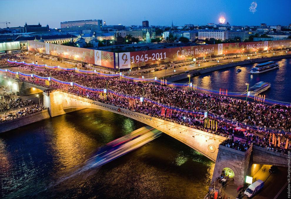 День Победы: парад на Красной Площади