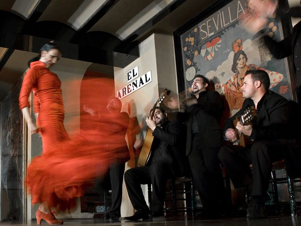 Танцовщица фламенко, Севилья