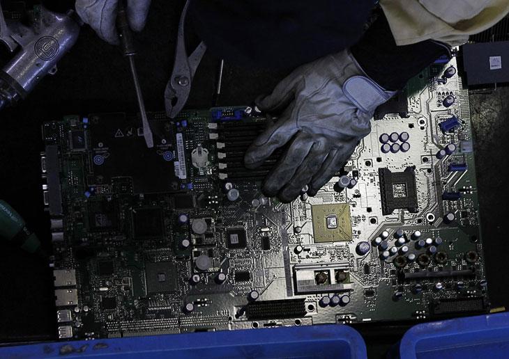 Устаревшая электроника с драгоценными металлами