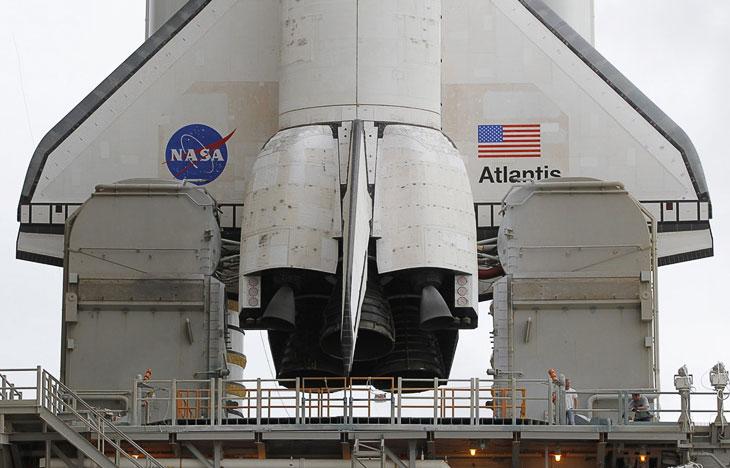 Последний шаттл «Атлантис» отправился в последний полет