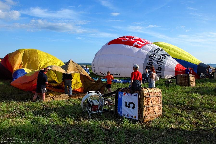 Воздушные шары над Переславле-Залесском