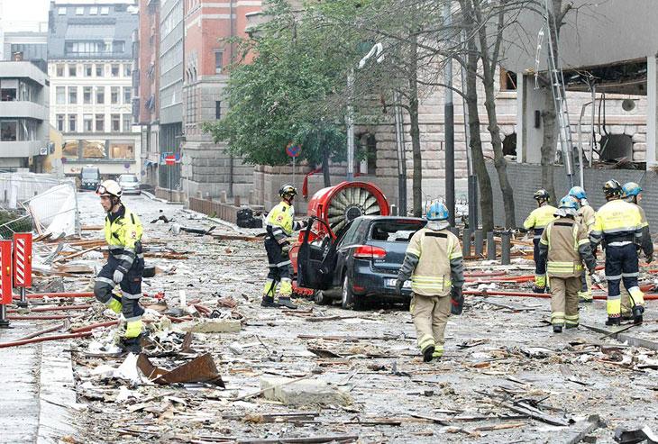 Двойной теракт в Норвегии