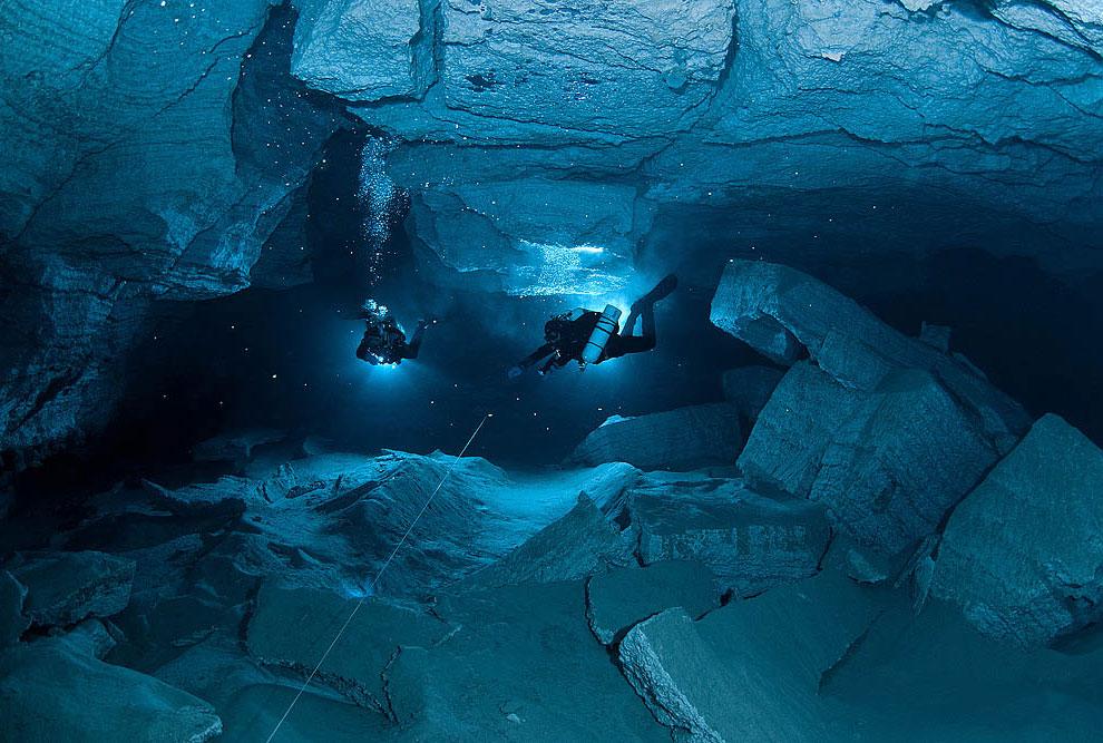 Путешествие по Ординской пещере