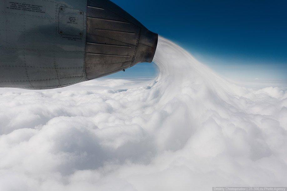 Полет на АН-24 в самый лучший аэропорт в мире