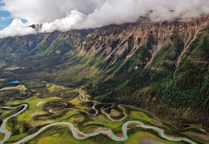 Долина реки, Канада