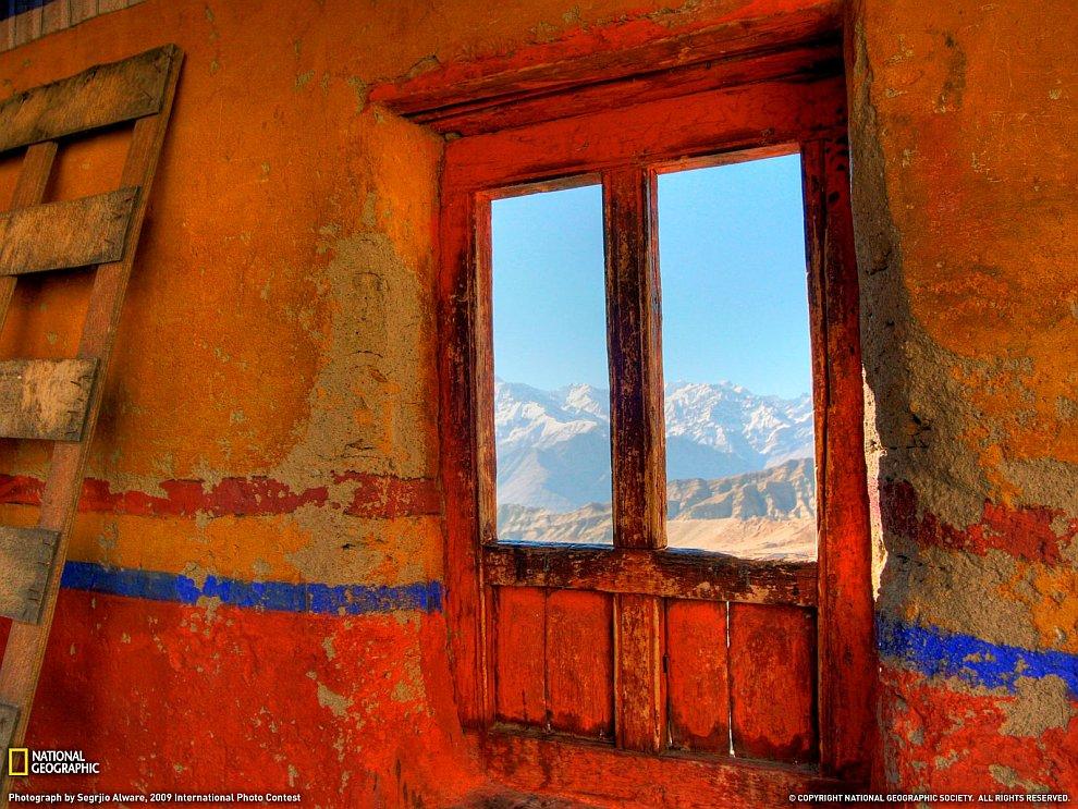 Окно монастыря, Ладакх