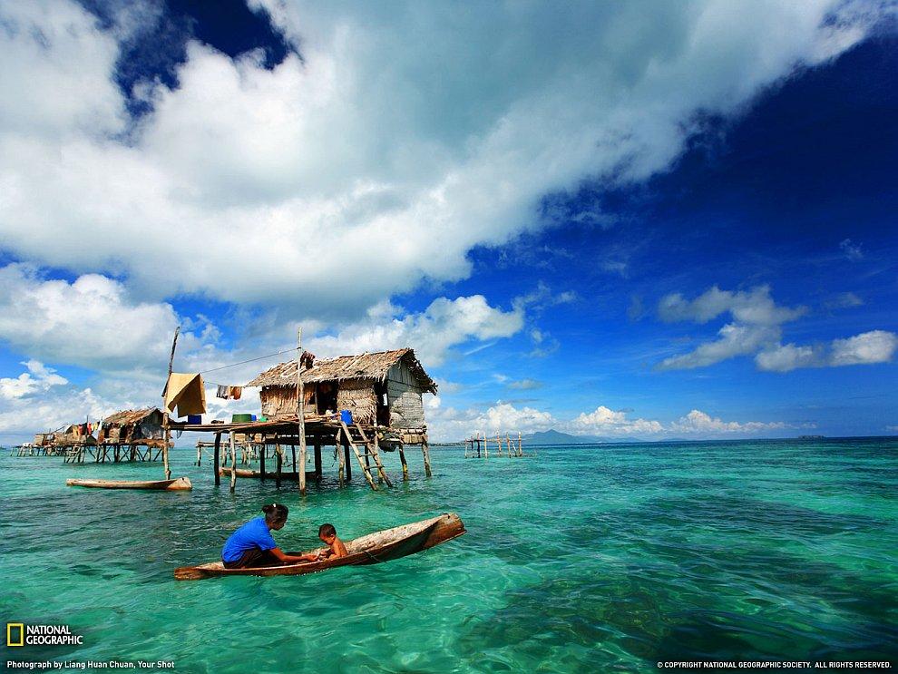 Рыбалка в море Сулавеси