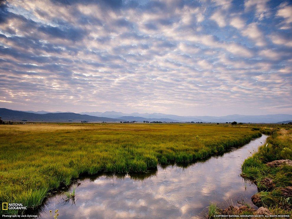 Долина в штате Колорадо