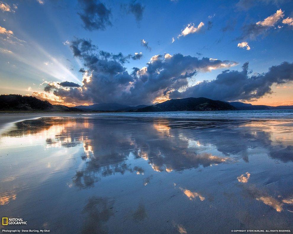 Залив Waikawau, Новая Зеландия