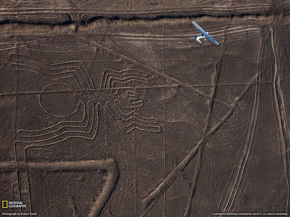 Рисунки пустыни Наска, Перу