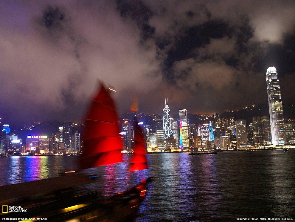 Городские пейзажи Гонконга