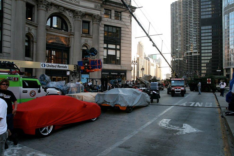 Как снимали «Трансформеров-3» в Чикаго