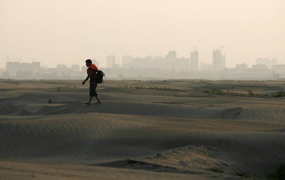 «Великая засуха» и сильнейшее наводнение в Китае