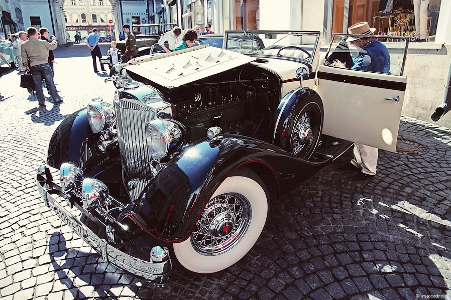 Packard 1104 Super Eight Coupe Roadster