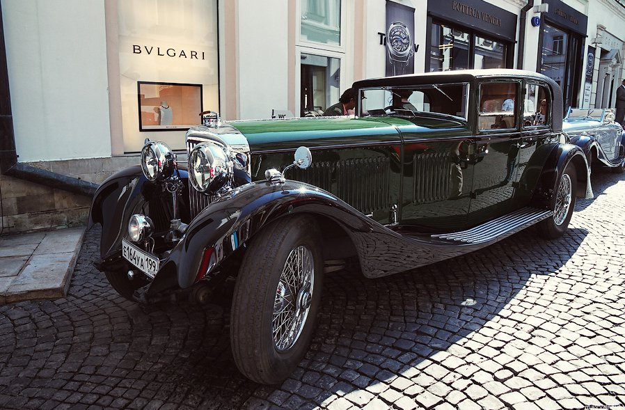 Bentley 8 Litre Mulliner Sports Sedan
