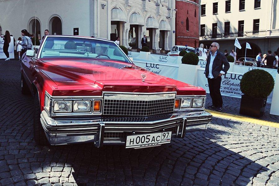 L.U.C Chopard Classic Weekend Rally в Москве