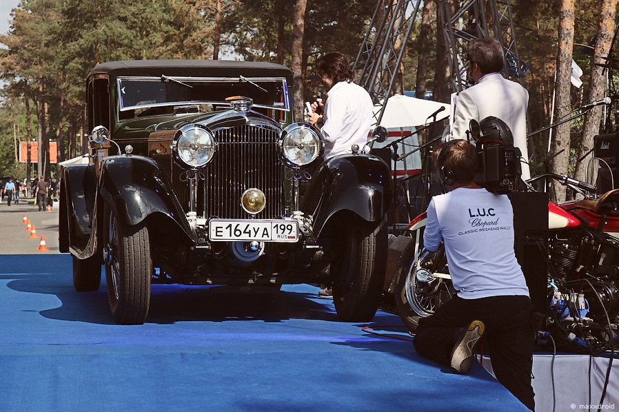 L.U.C Chopard Classic Weekend Rally в Москве