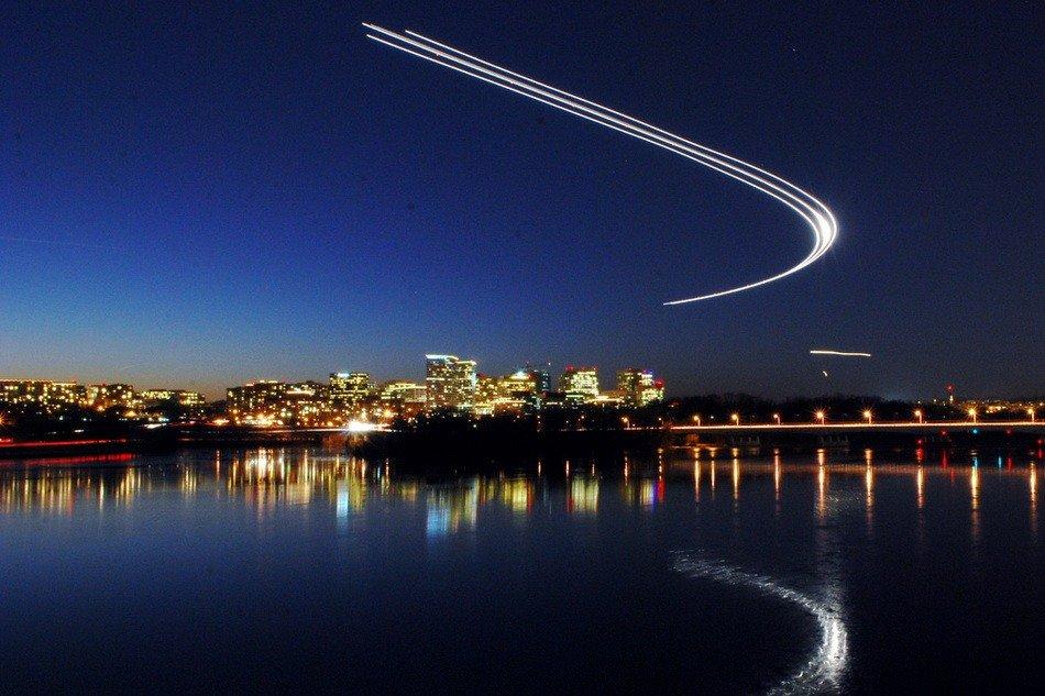 Необычные фотографии взлета и посадки самолетов