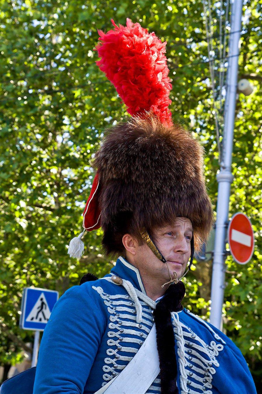 Парад военно-исторических клубов в Севастополе